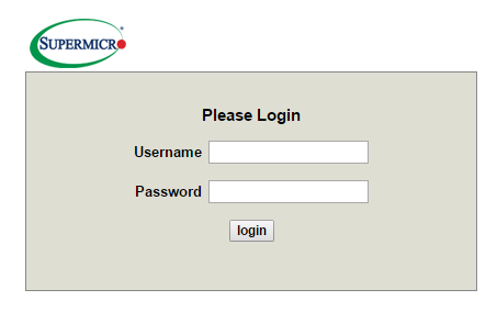 reference material supermicro ipmi default login and password